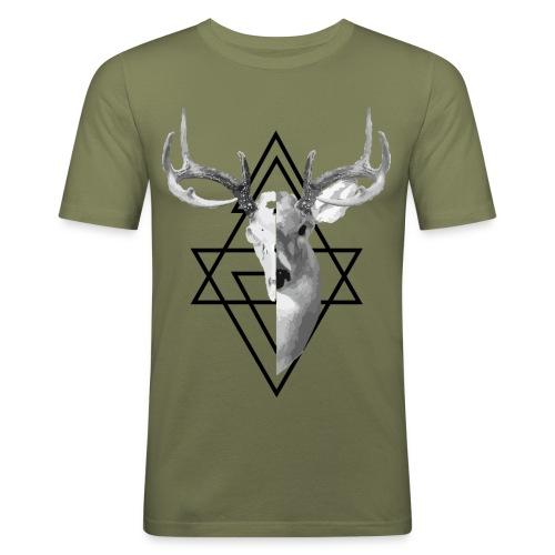 My Deer - Miesten tyköistuva t-paita