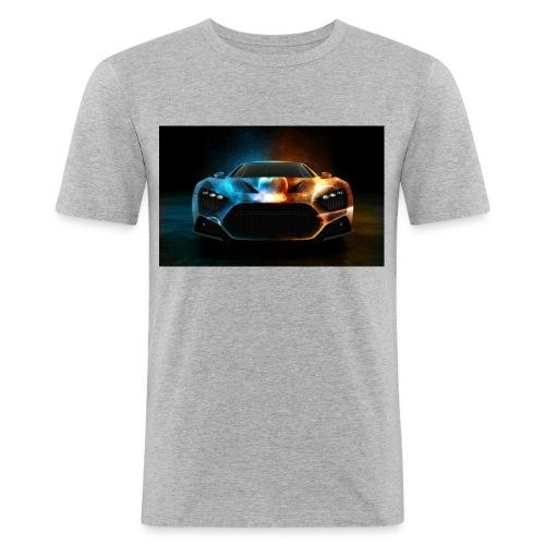 car - Men's Slim Fit T-Shirt