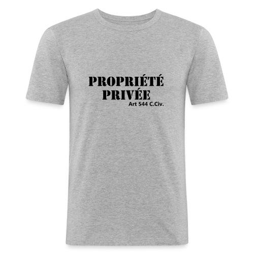 Propriété privée - T-shirt près du corps Homme