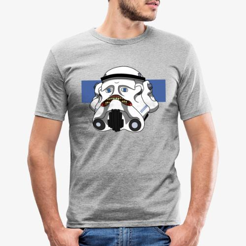 The Look of Concern - Men's Slim Fit T-Shirt