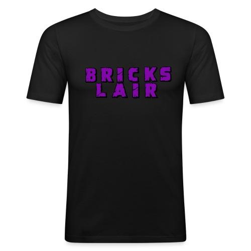 BrickslairLogoMerch - Men's Slim Fit T-Shirt