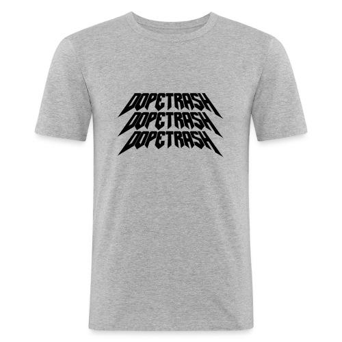 DopeTrash BLK - Men's Slim Fit T-Shirt