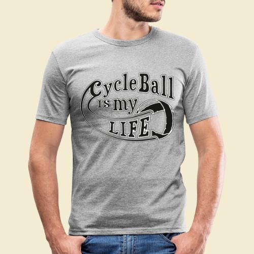 Radball   Cycle Ball is my Life - Männer Slim Fit T-Shirt