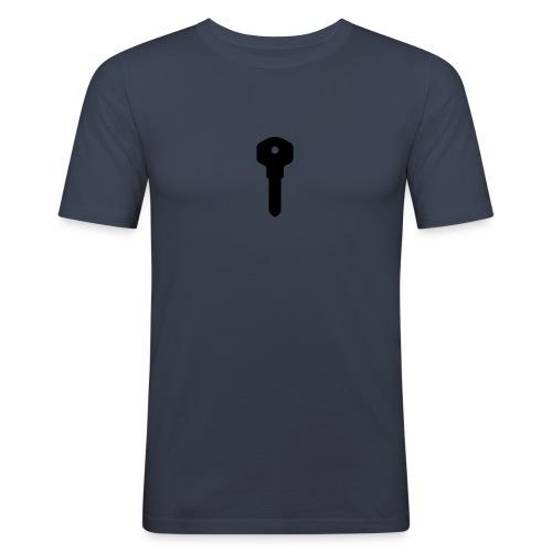 Narct - Key To Success - Men's Slim Fit T-Shirt