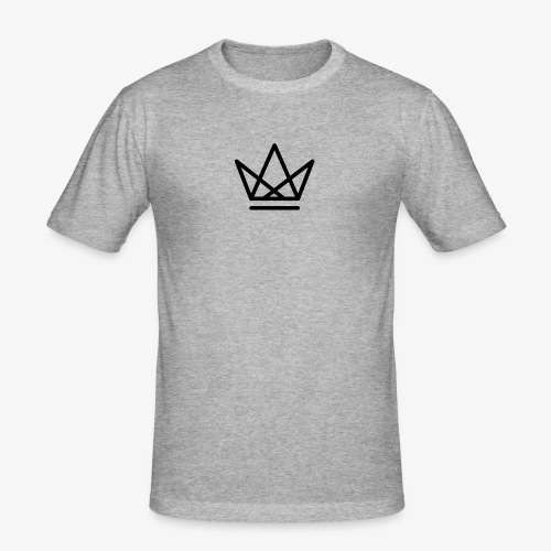 Regal Crown - Men's Slim Fit T-Shirt