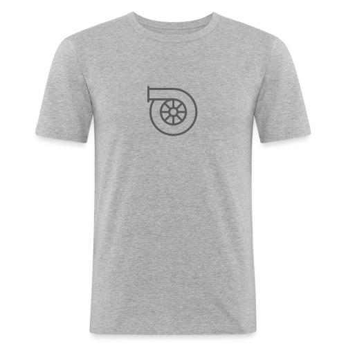 Turbo - Slim Fit T-shirt herr