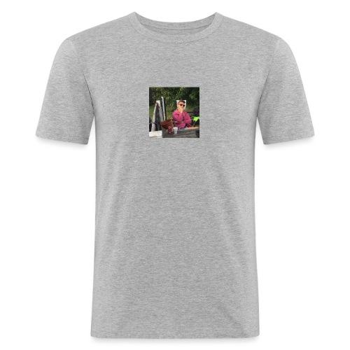 14484925 10209554910602420 3087937525797545518 n - Herre Slim Fit T-Shirt