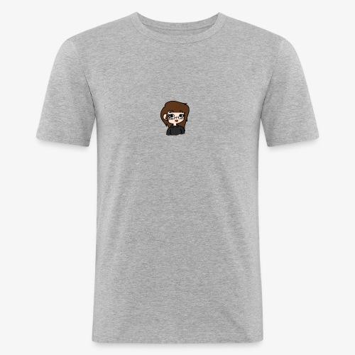 SwaggleCupcake Icon T-Shirt - Men's Slim Fit T-Shirt