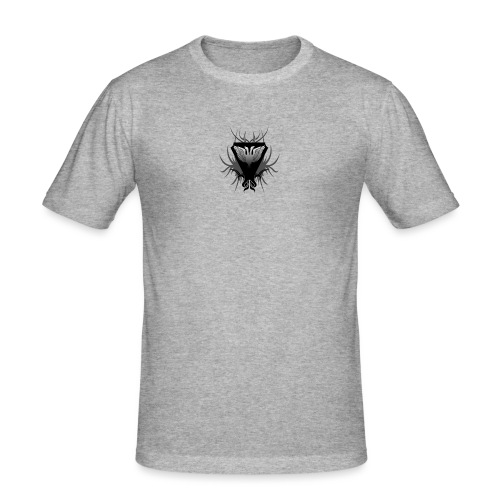 Unsafe_Gaming - Mannen slim fit T-shirt