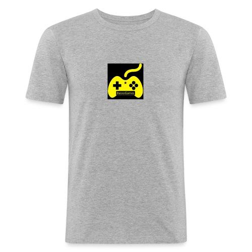 BassoGames Logi - Men's Slim Fit T-Shirt