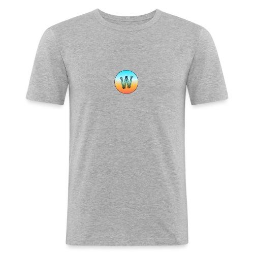 WBrand Tropical - T-shirt près du corps Homme
