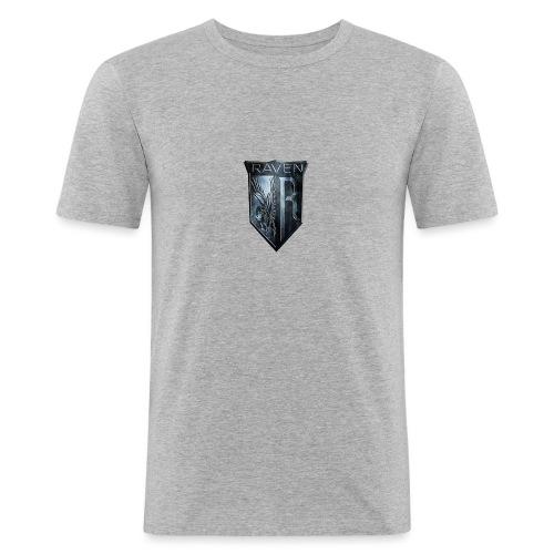 Marble RavenHawk Gaming Logo - Men's Slim Fit T-Shirt