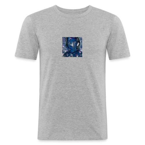 midnight kid - Slim Fit T-skjorte for menn