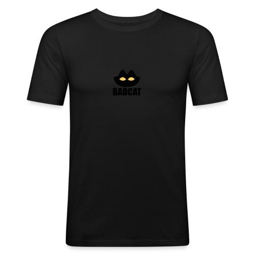 BADCAT - Mannen slim fit T-shirt