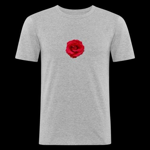 ForeMan- TheMansRose - Men's Slim Fit T-Shirt