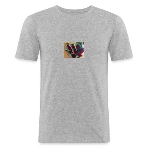 Buso gris - Camiseta ajustada hombre
