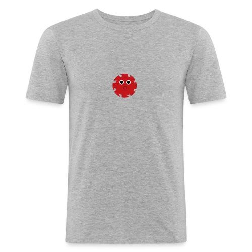 NGD Logo Klein (Zwart) - Mannen slim fit T-shirt