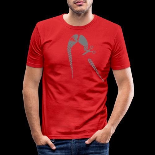 Greta FFF Fridays for future & Fridays for Hubraum - Männer Slim Fit T-Shirt