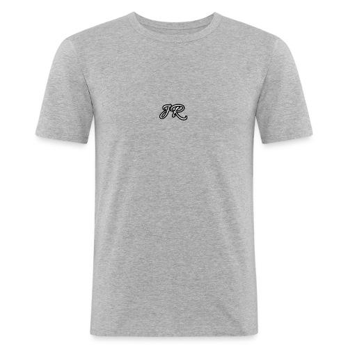 JR Logo Mens T-Shirt - Men's Slim Fit T-Shirt