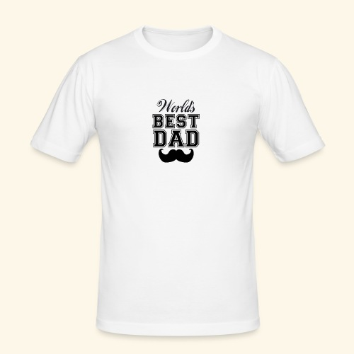 Worlds best dad - Herre Slim Fit T-Shirt