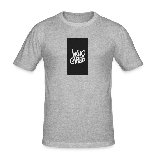 WHO CARES ? - T-shirt près du corps Homme