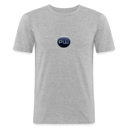 Logo PLANET WARGAME small - T-shirt près du corps Homme
