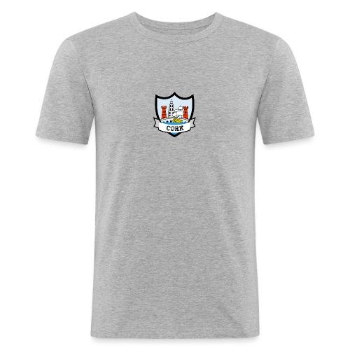 Cork - Eire Apparel - Men's Slim Fit T-Shirt