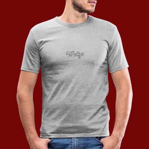 Wottyz First Edition - Men's Slim Fit T-Shirt