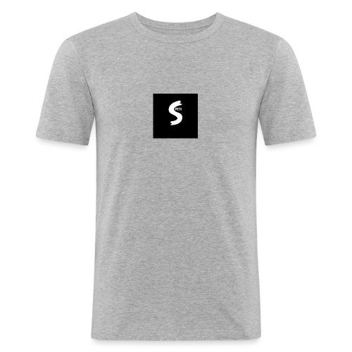 SPETV We̱i̱ß - Männer Slim Fit T-Shirt