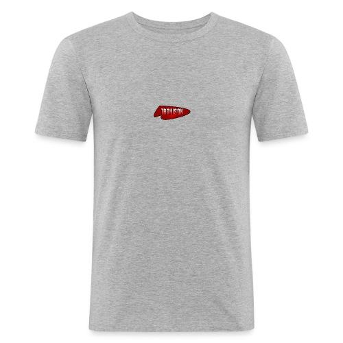 logo trahison - T-shirt près du corps Homme