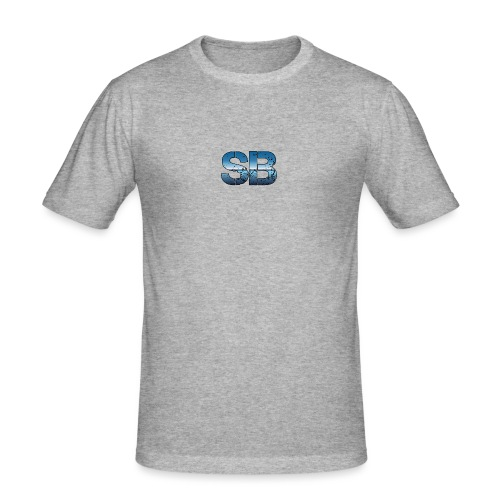 SB Logo - Herre Slim Fit T-Shirt