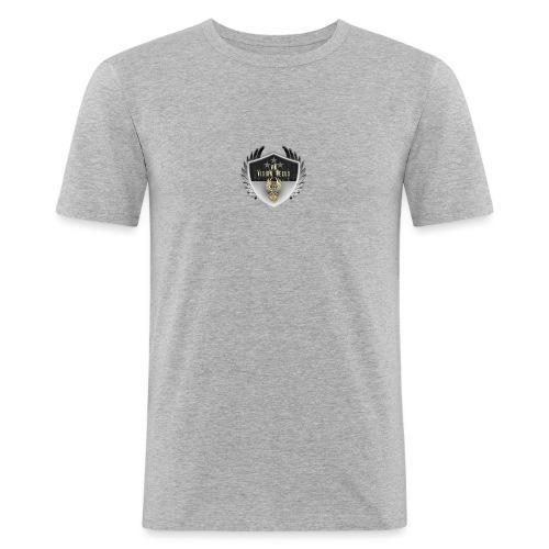 Vision Nexus - Männer Slim Fit T-Shirt