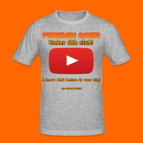 PRG 50k Tshirt - Men's Slim Fit T-Shirt