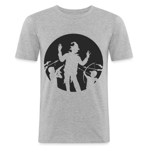 Le Clown - T-shirt près du corps Homme