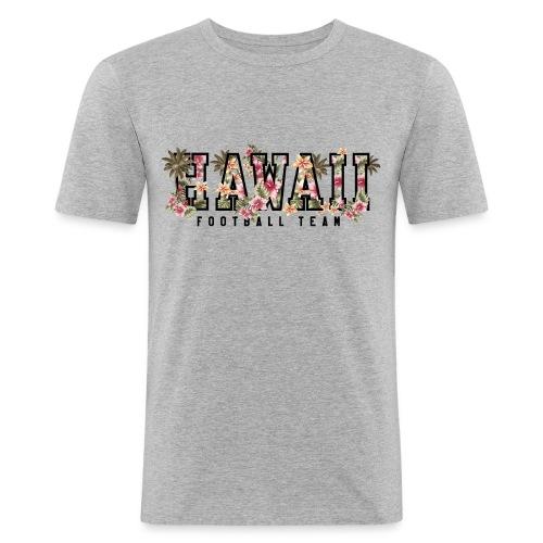 hawaiifootballteam2 - Men's Slim Fit T-Shirt