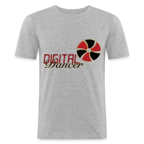 Digital Dancer - Mannen slim fit T-shirt