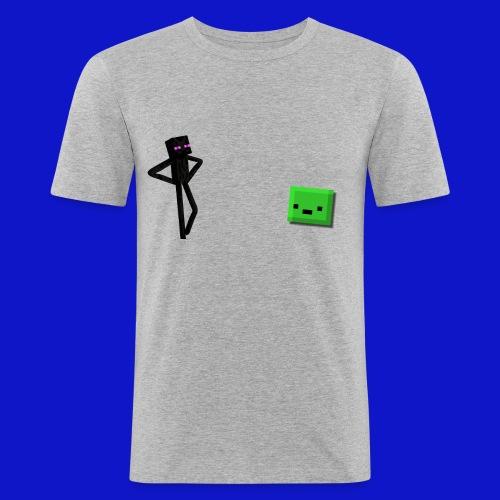 Slime Triggered - Maglietta aderente da uomo