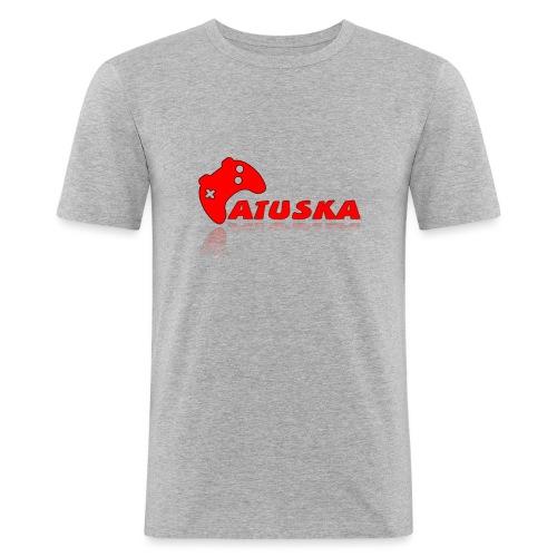 Atuska - Miesten tyköistuva t-paita