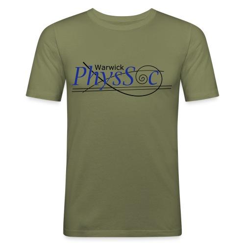 Official Warwick PhysSoc T Shirt - Men's Slim Fit T-Shirt