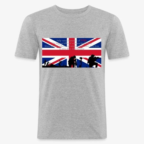 PSTD Awareness - Men's Slim Fit T-Shirt