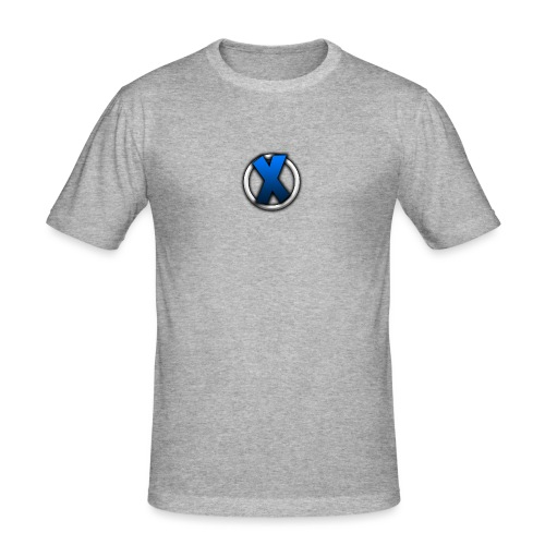 Kleines Logo - Männer Slim Fit T-Shirt
