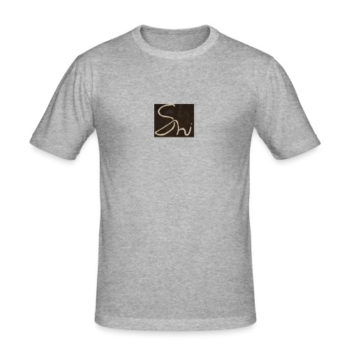 Black Shi Logo T-shirt - Men's Slim Fit T-Shirt