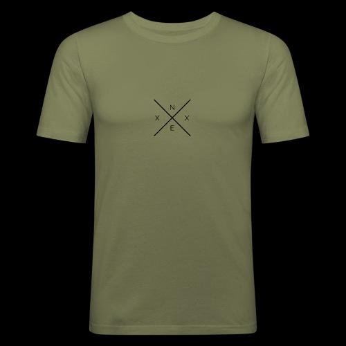 NEXX cross - Mannen slim fit T-shirt