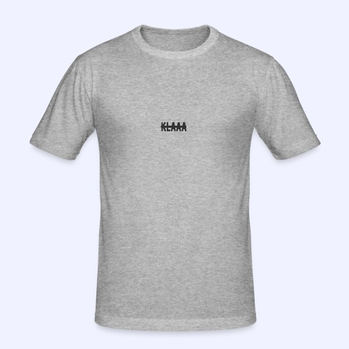 Klaaa - Männer Slim Fit T-Shirt