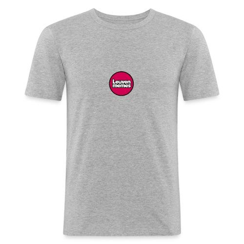 Logo LeuvenMemes - T-shirt près du corps Homme