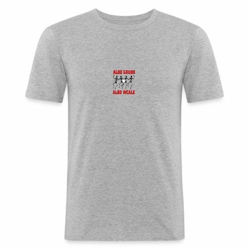446 5574 przod editor - Obcisła koszulka męska