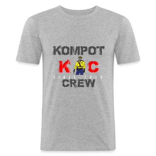 Abbigliamento Kompot Crew - Maglietta aderente da uomo