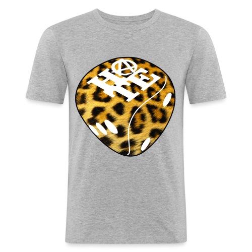 Leopard - Men's Slim Fit T-Shirt