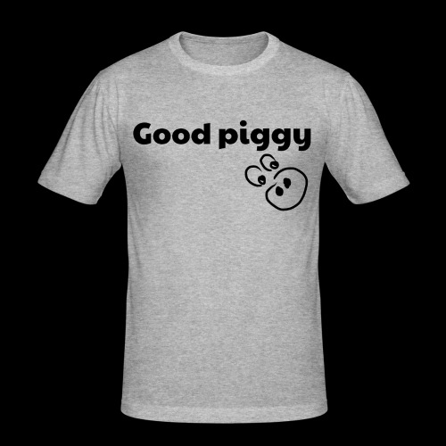 Good Pig - Men's Slim Fit T-Shirt