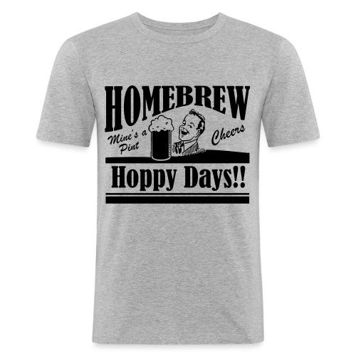 Hoppy Days - Men's Slim Fit T-Shirt